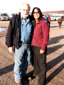 Dr. Charles Jonkel and Me, Missoula Montana Nov 18
