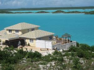 A beautiful beachfront home