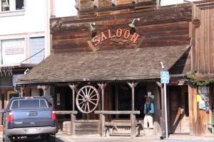 Saloon in my newly discovered beach town
