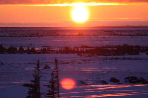 Churchill Sunset