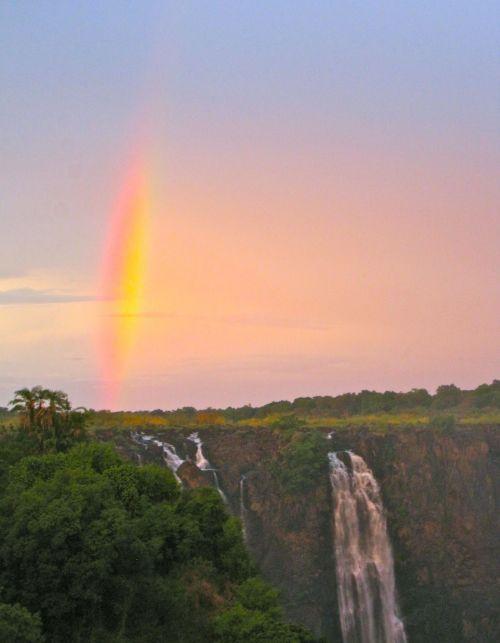 rainbow fall